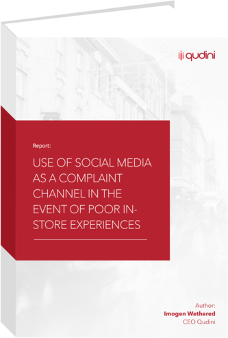 Use Of Social Media For Retail Complaints