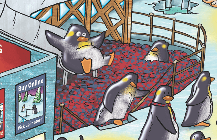 In-store-Click-and-Collect-solutions-retail-qudini-penguins